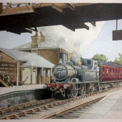 1445 at Woofferton Junction
