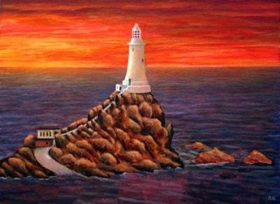 Corbiere Lighthouse - Jersey
