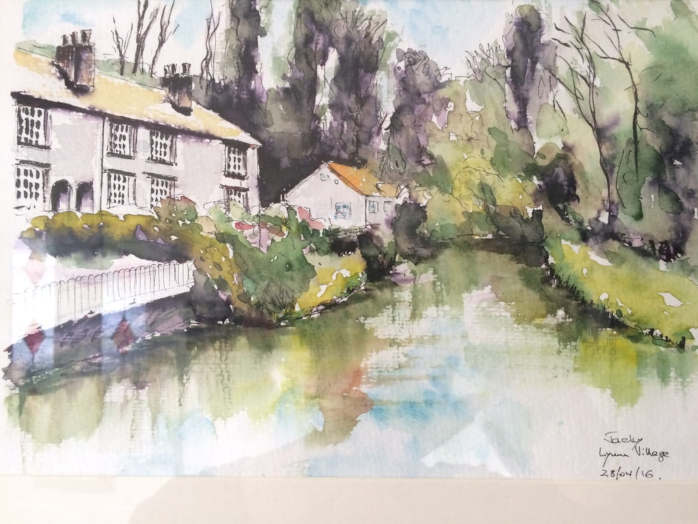 Lymm village 2016