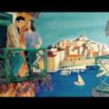 Balcons d'lamour .overlooking Marseille. Acrylic 30x24