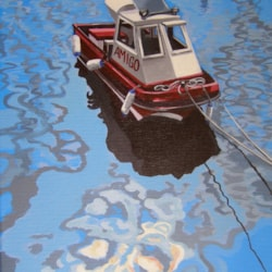 "'Amigo' Acrylic on stretched canvas. 10x14"""