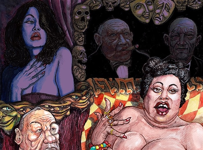 In the style of 'Odd'...When the fat lady sings.