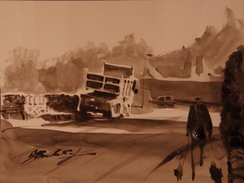 Hagg Lane - Tonal Sketch