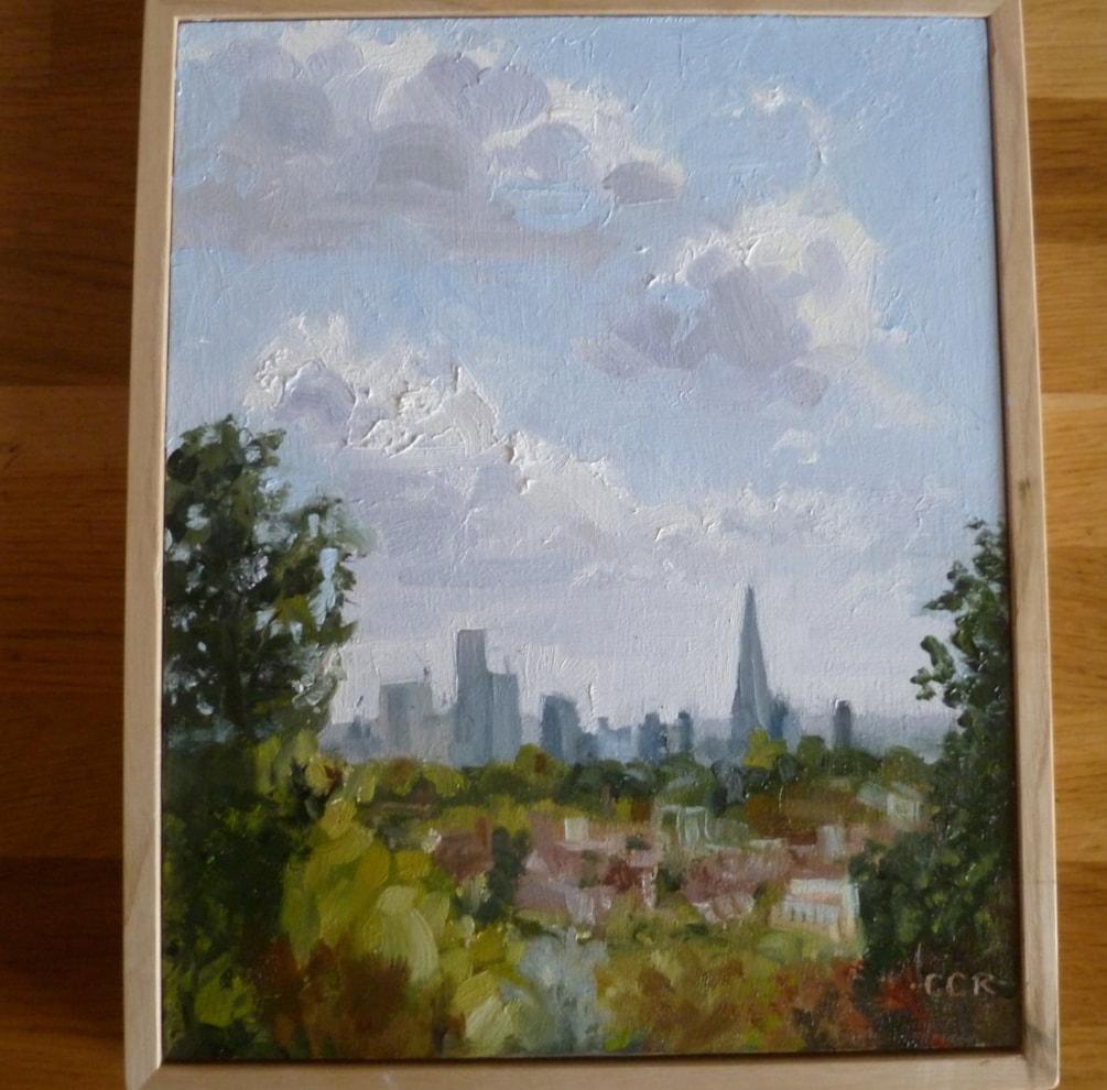 City of London from Alexandra Palace park