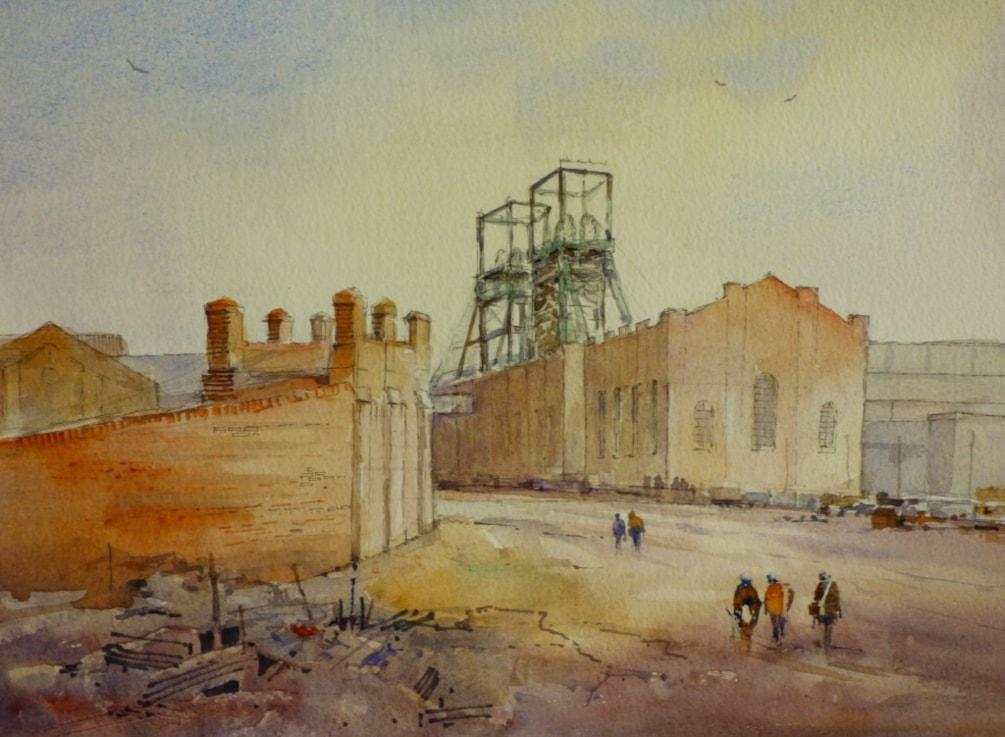 Easington Colliery circa 1968