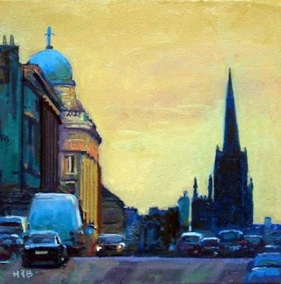 Evening_ Hanover Street
