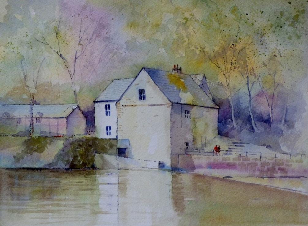 Corn Mill River Wear Durham