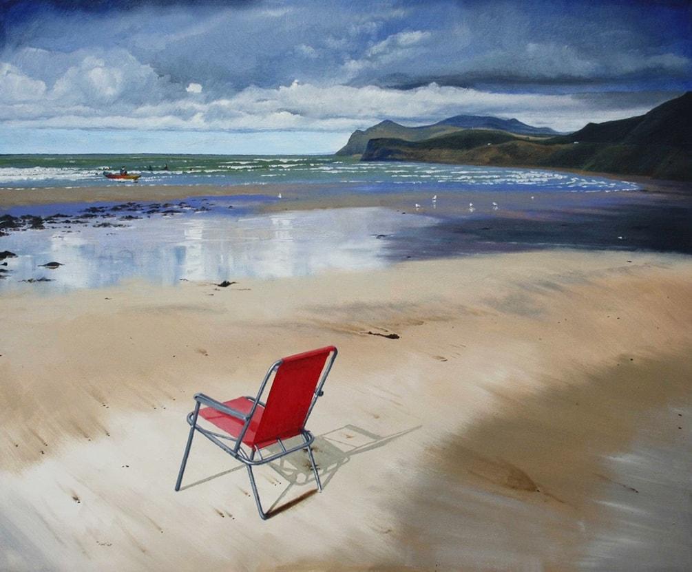 Nefyn beach, North Wales