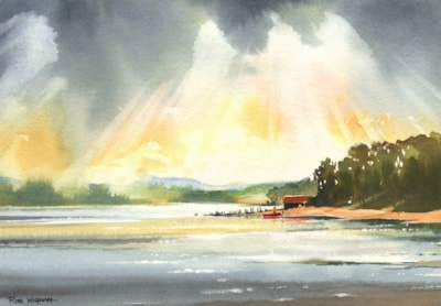 'The Old Boathouse, Binsness, Findhorn Bay'
