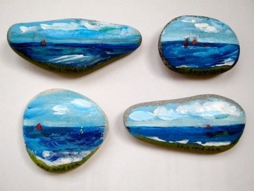 Sky and Sea pebbles