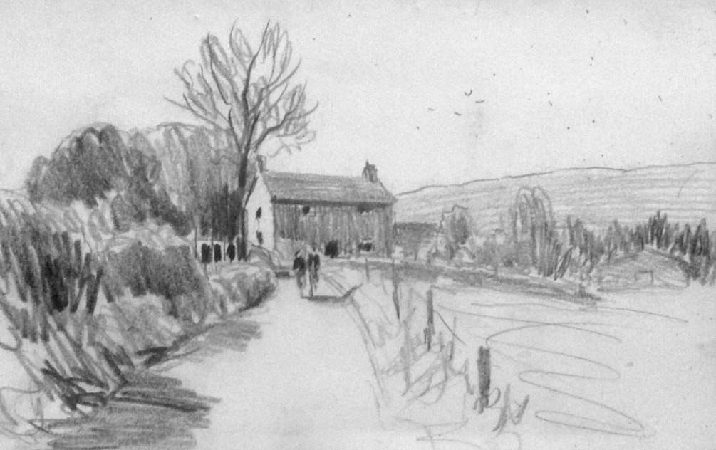 Near Tittesworth Reservoir.