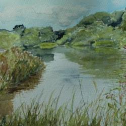 Mersey at Woolston Weir