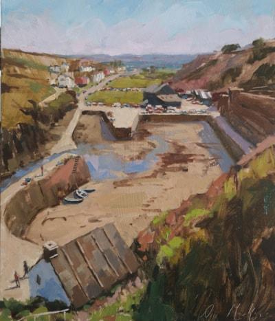 Along the Coast Path, Porthgain