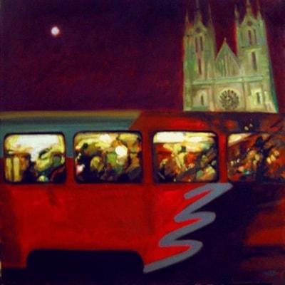 Prague Tram No.2