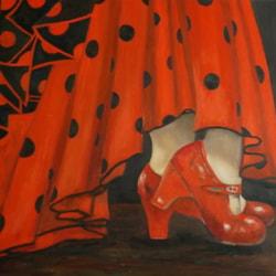 Red Flamenco Shoes