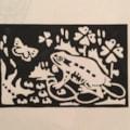 Frog (Linocut)