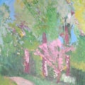1909#8 Westonbirt - acrylics (photo)