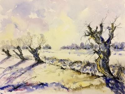 Winter In The Fens