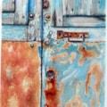 Presbytery door, Sartene, Corsica