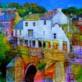 Elvet Bridge from Prince Bishops Durham
