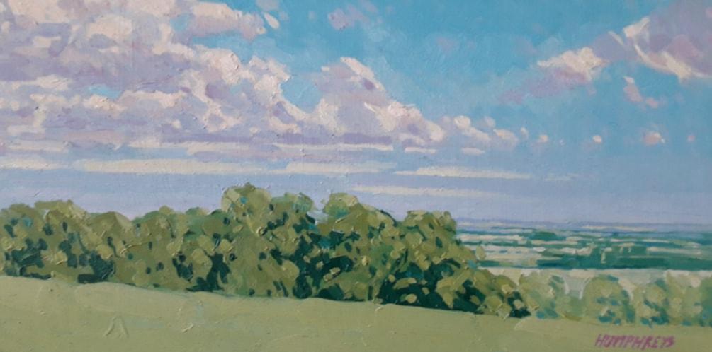 Sunlit Landscape, Lincs.