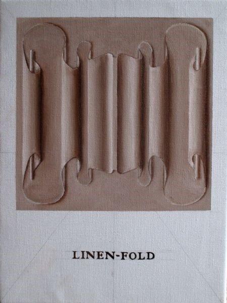 Linen-fold panel
