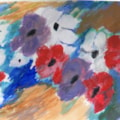 Anemones from sketch