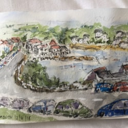 Falmouth plein air