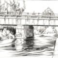 Nottingham Canal Bridge.