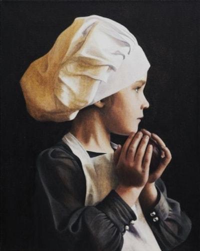 'Lila Pearl IV - Baker Girl'
