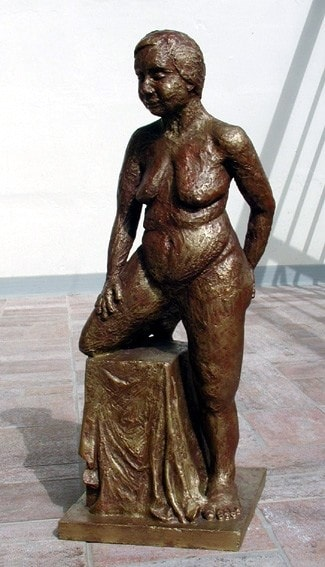 Standing Nude - front