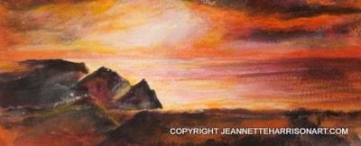 Tintagel Mount Plein Air