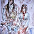 Figure Study. Cochise and wife....