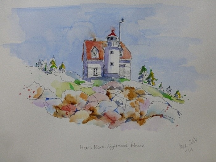 Heron Neck Lighthouse, Maine