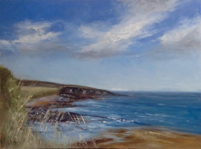 Towards Cullernose Point, Howick