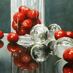 Cherries And Glass