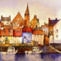 St Monans harbour Fife
