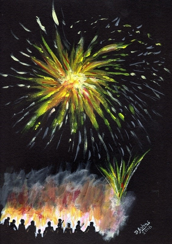 Local Bonfire and Fireworks Night