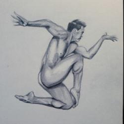 Male nude #1