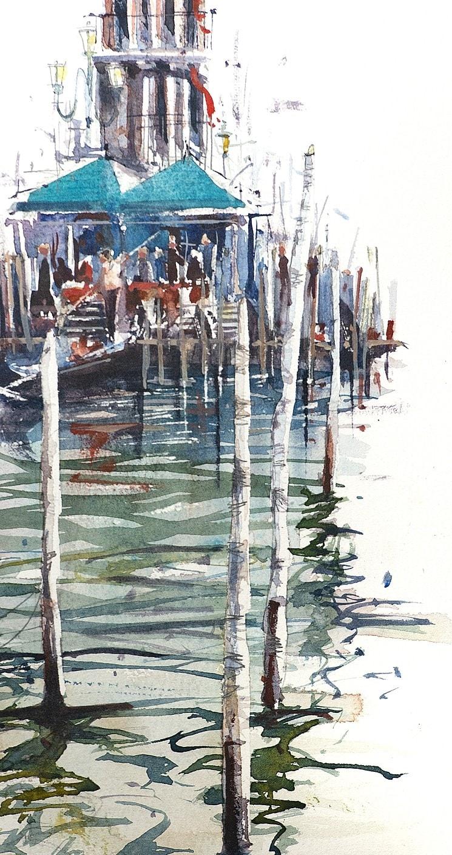 Grand Canal Venice watercolour