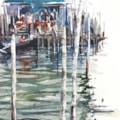 Grand Canal Venice watercolour