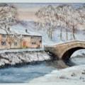 Winter At Hubberholme - Wharfedale