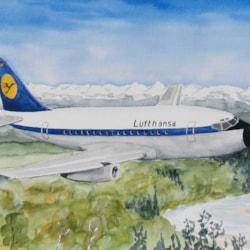 20210406_Lufthansa Jet Isar Bogen
