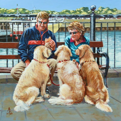 2021 No.1967 Pooches and Pasties, Padstow