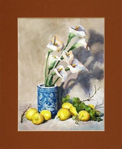 lemons and lilies