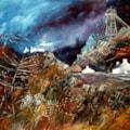 Disused Mine Workings, Rhondda Valley.