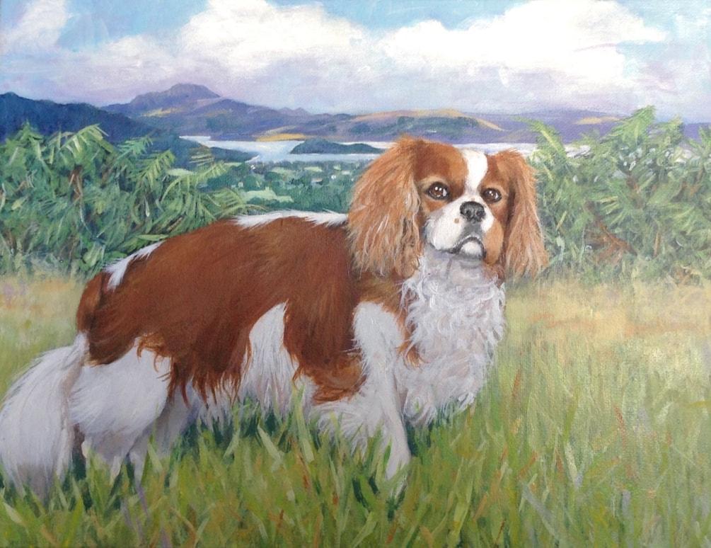 Dexter from Loch Lomond