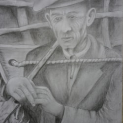 the coracle man