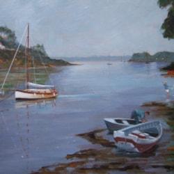 """""""High Water, Restronguet, Cornwall"""""""