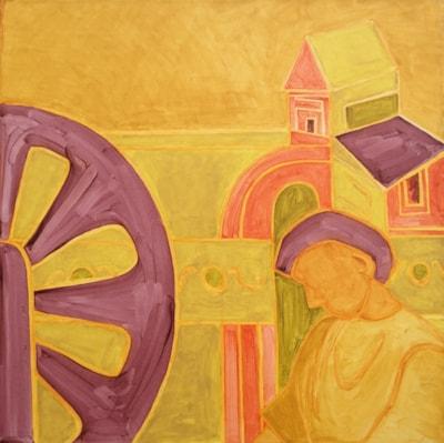 Fresco 2, detail